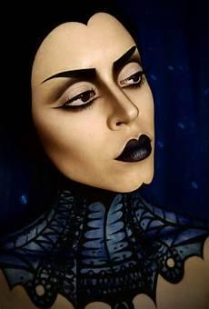 schminke hexen make up mit grusel effekt