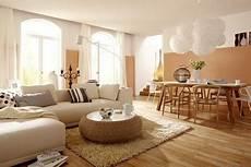 einrichten mit farbe wohnzimmer in hellen holzfarben bild 3 in 2019 wohnzimmer dekor