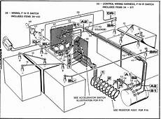 western golf cart battery wiring diagram within ez go golf cart parts golf cart batteries
