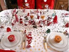 table de noel blanc deco de tables