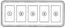 1997 ford aspire fuse box diagram ford aspire 1993 2000 fuse box diagram auto genius