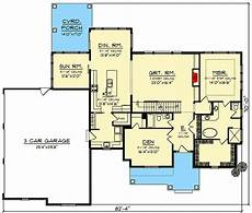 3 garage house plans modern farmhouse plan with 3 car side entry garage