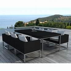 table de jardin moderne table et chaises de jardin moderne oceane lestendances fr