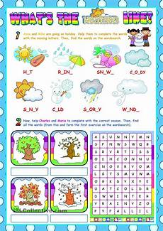 nature and weather worksheets 15158 the weather for beginners re uploaded learning learning sight words beginner