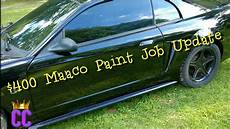 400 base maaco paint job one month later youtube