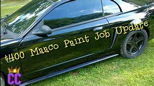 $400 Base Maaco Paint Job One Month Later  YouTube