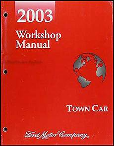 automotive service manuals 2003 lincoln town car electronic valve timing 2003 lincoln town car repair shop manual original