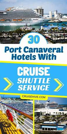 30 port canaveral hotels with cruise shuttle service