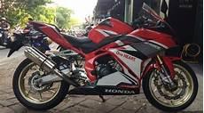 Modifikasi Rr 2018 by Modifikasi Honda Cbr250rr Tang Standar Padahal Habis