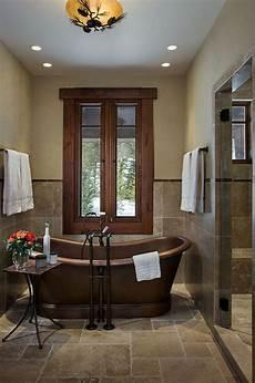 decor bathroom ideas 15 copper bathtubs create a warm glow focal point in the bathroom