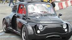 fiat 500 con motore lamborghini heavily modified fiat 500 has a lamborghini v12 engine