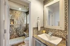everglade pennyround tile bathroom backsplash traditional bathroom orange county by msi