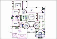 house plan dwg house plan view detail dwg file cadbull