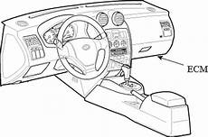 security system 2006 hyundai accent engine control repair guides component locations electronic control module autozone com
