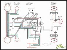 halo fog l wiring diagram oracle 03 06 ford expedition led colorshift halo rings fog lights bulbs