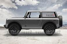 2020 ford bronco and ranger 2020 ford bronco renders based on official teaser 2020