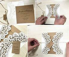 Handmade Wedding Invitation Cards handmade wedding invitation laser cut wedding invitation