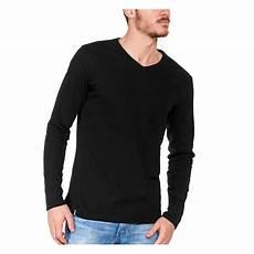 tshirt manche longue noir made in bio le t