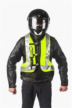 helite hi viz airbag vest turtle technology
