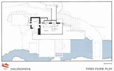 frank lloyd wright waterfall house plans frank lloyd wright fallingwater third floor plan
