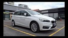 2015 bmw 220i gran tourer luxury line start up and