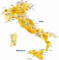 Karte Italien Karten Italien Landcarte Italien