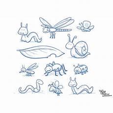 bilder zum ausmalen insekten malbild