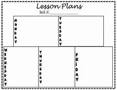 plank plan blank lesson plan template by manicmiddleschoollady tpt