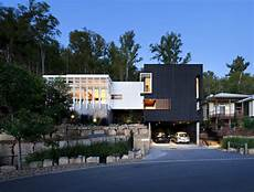 segmented cubes residence hillside quot stonehawke house quot by base architecture