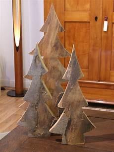 Deko Tannenbaum Holz - tannenbaum weihnachtsbaum aus massivem holz geschnitten