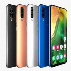 3d samsung galaxy a50 all colors cgtrader