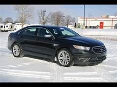 2013 ford taurus limited black for sale dealer dayton troy piqua sidney ohio cp13785at youtube