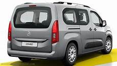 opel combo l2 2018 dimensions boot space and interior