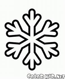 Schneeflocke Malvorlage Einfach Malvorlagen Einfache Schneeflocke