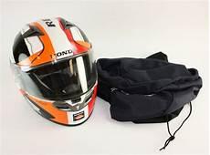 honda repsol helm large used kbc honda repsol snell dot certified helmet ebay