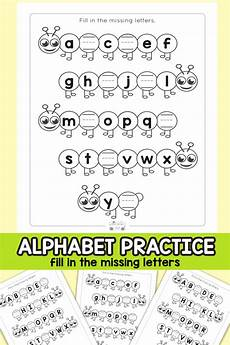 caterpillar fill in the missing letters alphabet worksheets itsybitsyfun com