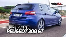 Test Auto Peugeot 308 Gt 2015
