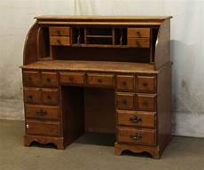 wooden office furniture for the home roll top wooden desk olde good things