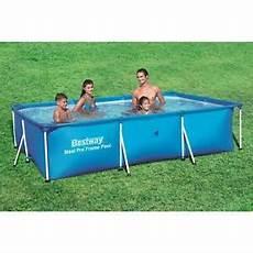 bestway steel pro 56404 aufstellpool gerahmter pool
