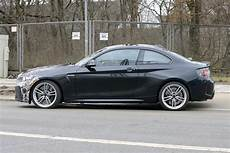 2018 bmw m2 facelift first spy shots gtspirit