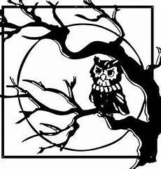 Mewarnai Gambar Burung Hantu Hitam Putih Buku Gambar