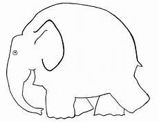 vorlage elefant elmar elefant elefant ausmalbild elefanten