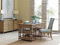 home office furniture naples fl tommy bahama home home office st vincent pedestal desk