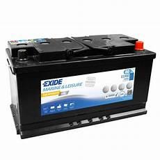Exide Es900 Equipment Gel 80ah Batterie Gel G80