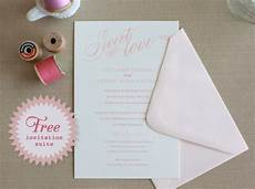 do it yourself printable sweet love wedding invitations