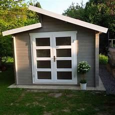 gartenhaus pultdach modern modernes pultdach gartenhaus in hellgrau und wei 223