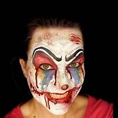 Best 25  Clown Faces Ideas On Pinterest Face Paint
