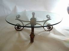 wrought iron coffee tables with glass top glass and gilded wrought iron coffee table at 1stdibs