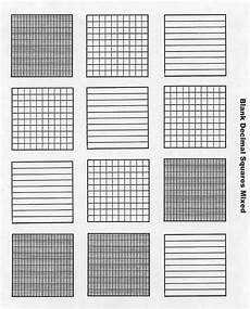 decimal worksheets with models 7336 free blank decimal grids for tenths hundreths thousandths on this site attivit 224 di
