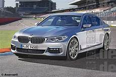 2017 Bmw 5 Series Rendered